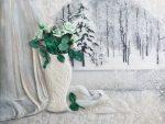 175+ Gambar-gambar Panel Menarik di Dinding dari cara improvisasi dengan tangan anda sendiri. Dari kain, dari gabus, dari manik-manik - apa yang lebih cantik?