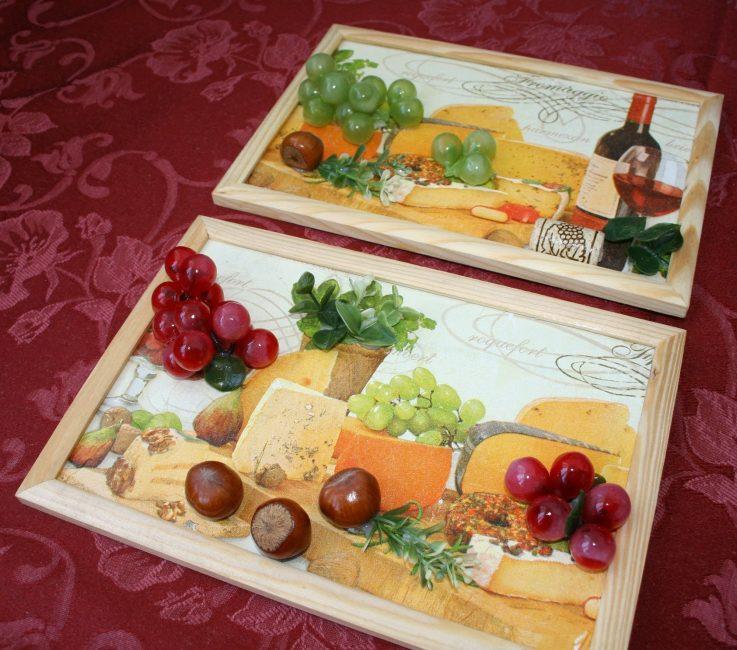 장식용 식품 사용