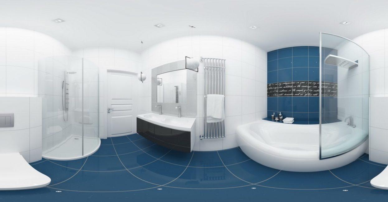 Şık ve konforlu banyo