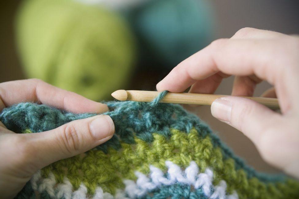 Crochet: duro lavoro