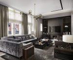 150+ Foto Interiors Moden dalam warna Grey. Kelebihan yang memberikan reka bentuk kelabu
