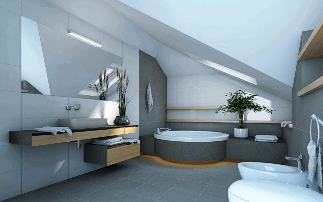 Il bagno, di regola, prevale sulle docce