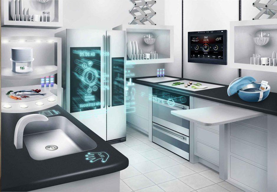 Cucina dal futuro