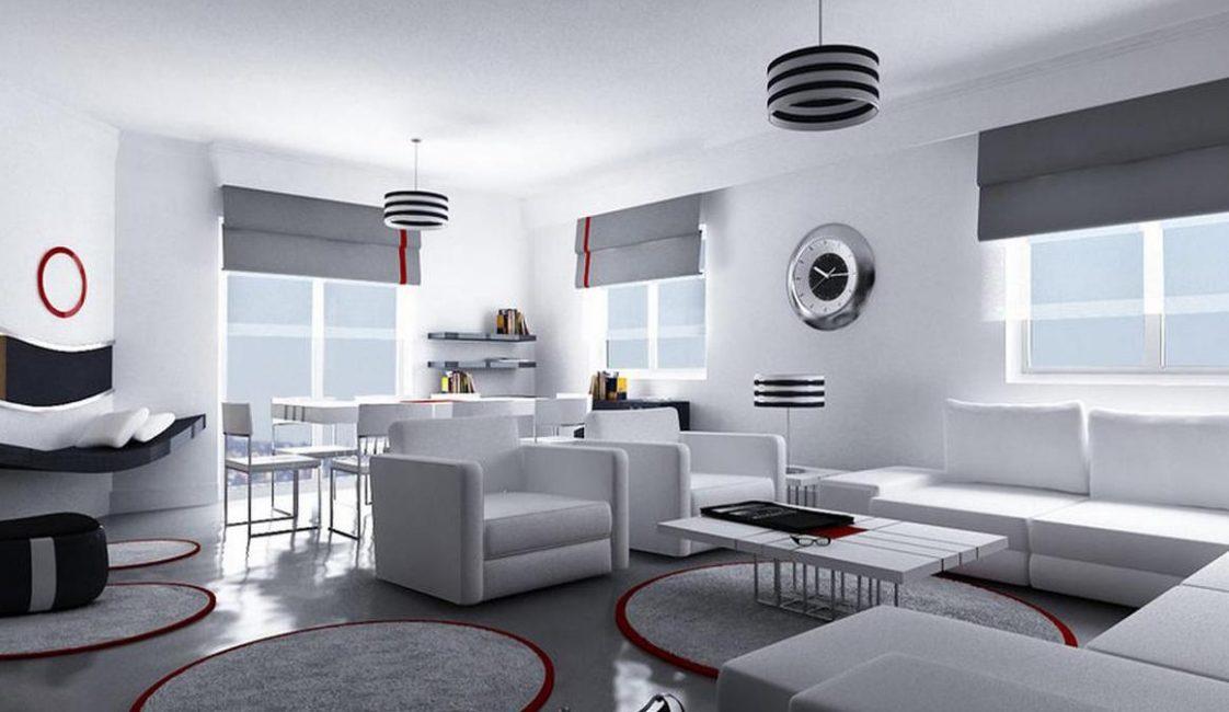 In questo stile, la bellezza e l'estetica sono collegate con funzionalità e praticità.