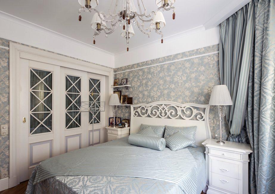 Provence rengi yatak odası için idealdir.