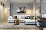 Beautiful Corner Living Rooms - 215+ Photos Best Solutions Save space (closet, fireplace, sofa)