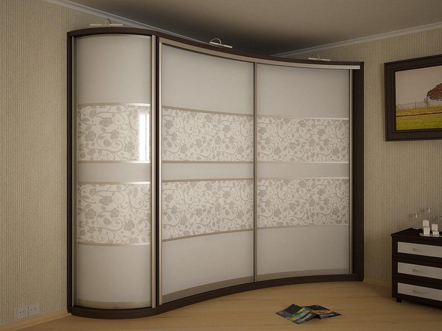 Eckschiebeschrank Schlafzimmer 160 Foto Modernes Design