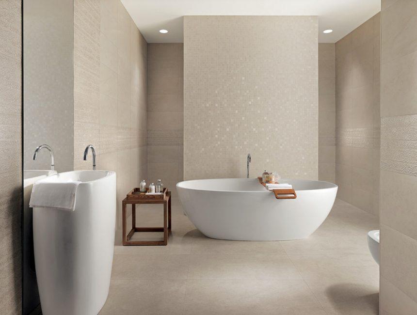 Bilik mandi boleh menjadi karya seni yang sebenar.