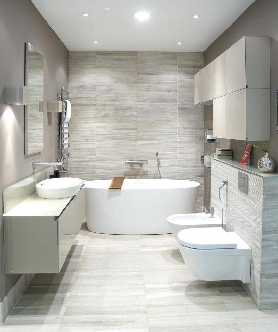 Tenggelam sedemikian menjadikan bilik mandi asli dan unik.