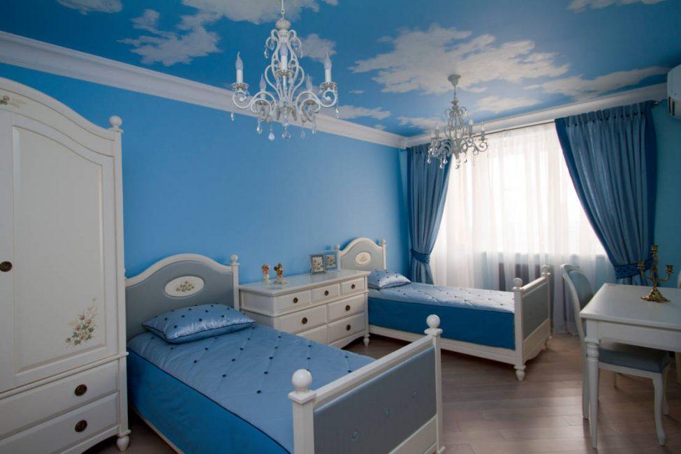 Açık tonlar yatak odası için en iyisidir.