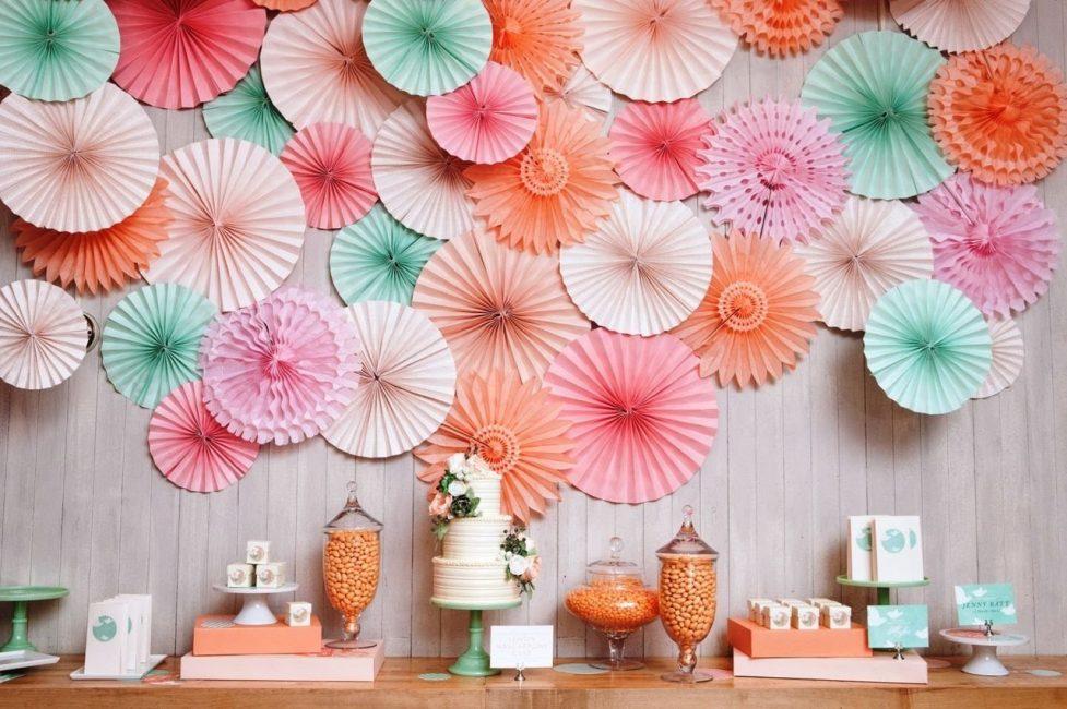 Duvar dekorasyonu için 3D el sanatları