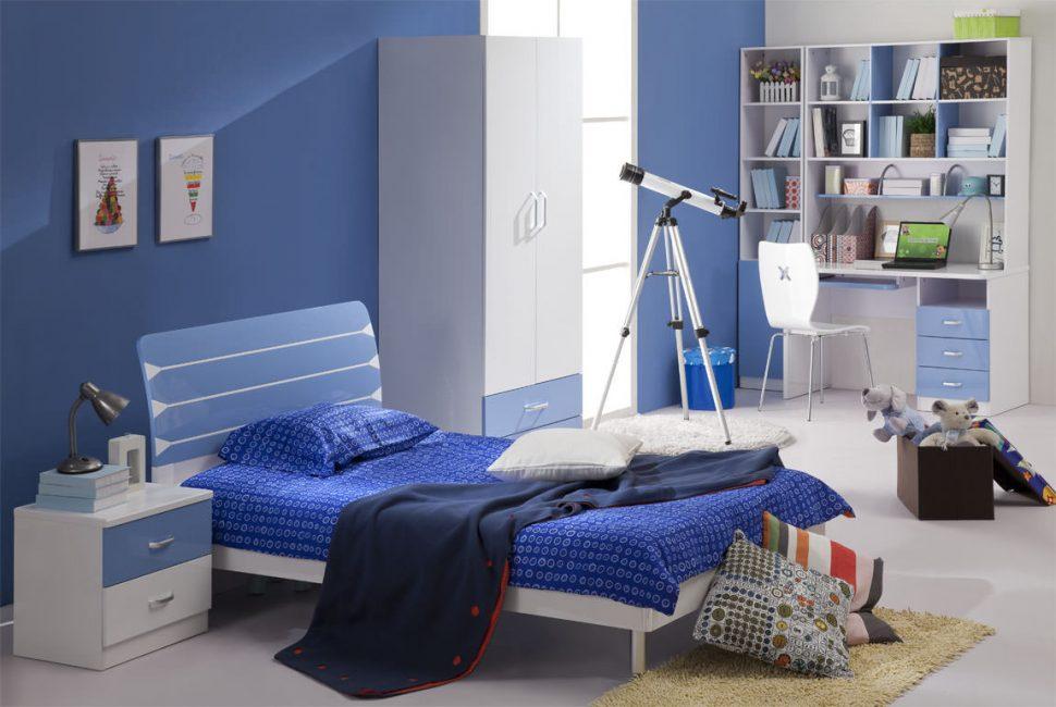 Splendidi interni blu