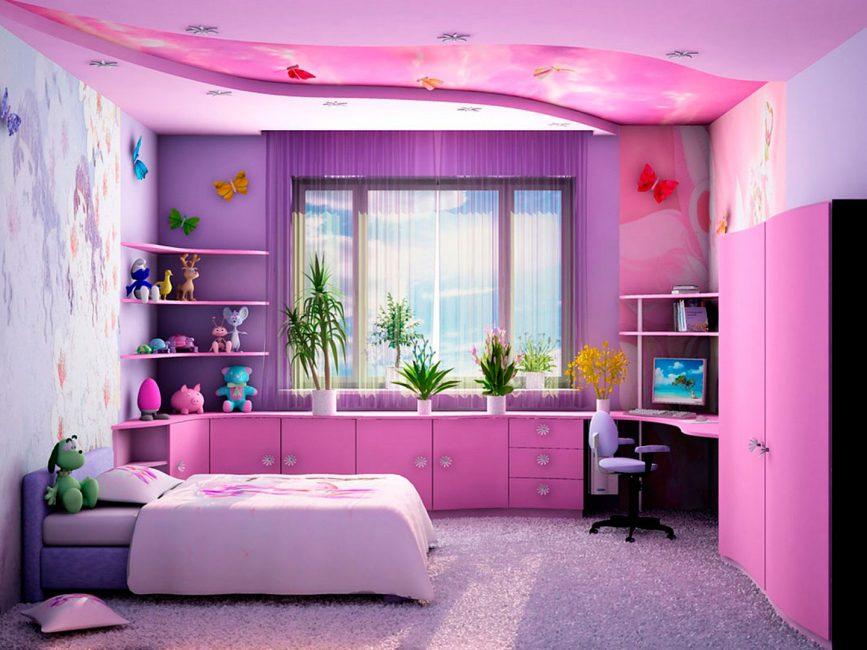 Lussuosa stanza viola