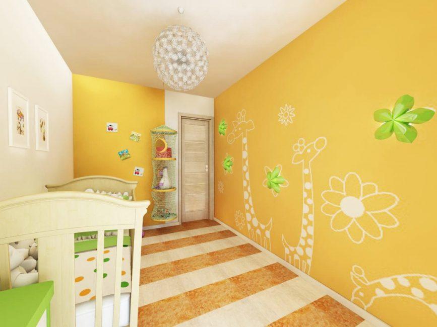 Dünya bebek bilgisi için parlak duvar kağıdı