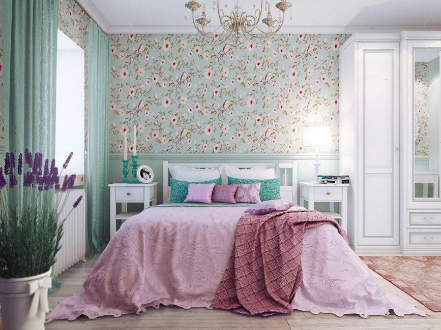 Gaya yang mesra dan selesa untuk bilik tidur anda