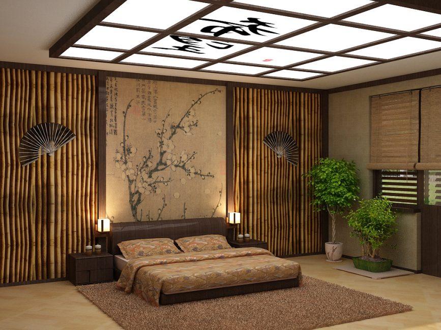 Hiasan dinding buluh