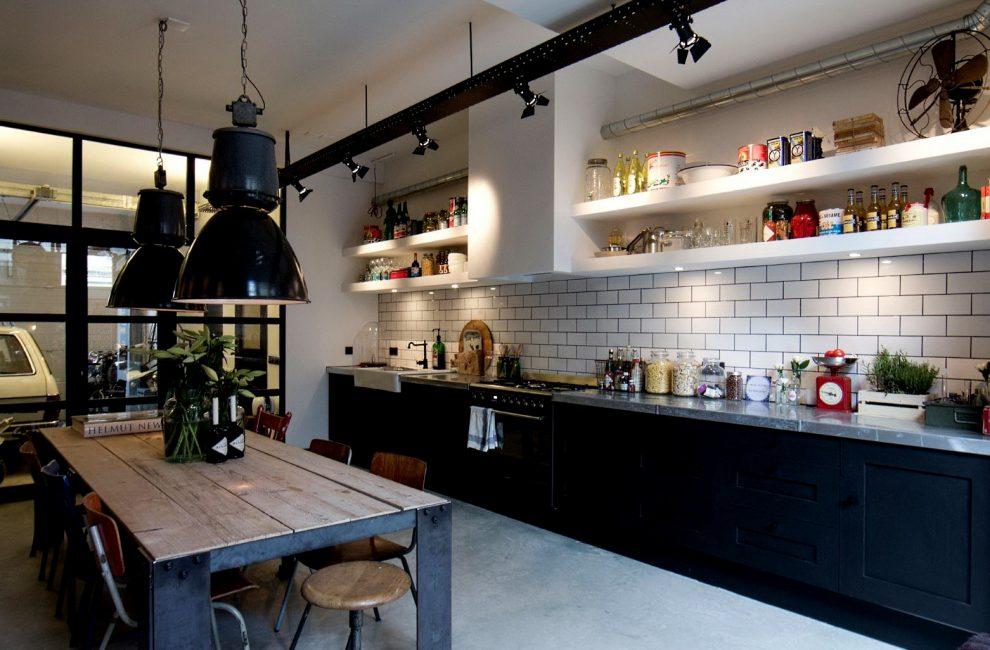 Untuk kawasan dapur sering mengambil sudut ruang tamu