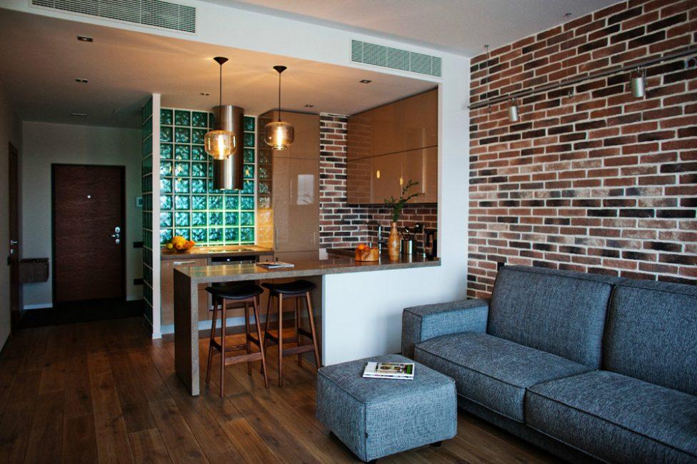 Gunakan set perabot minimum