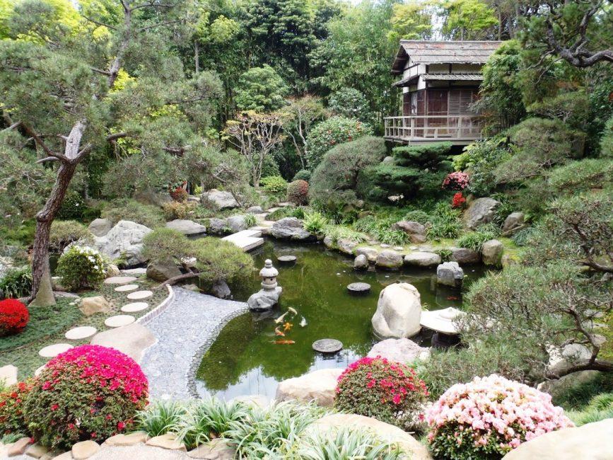 Reka bentuk landskap dalam gaya Jepun