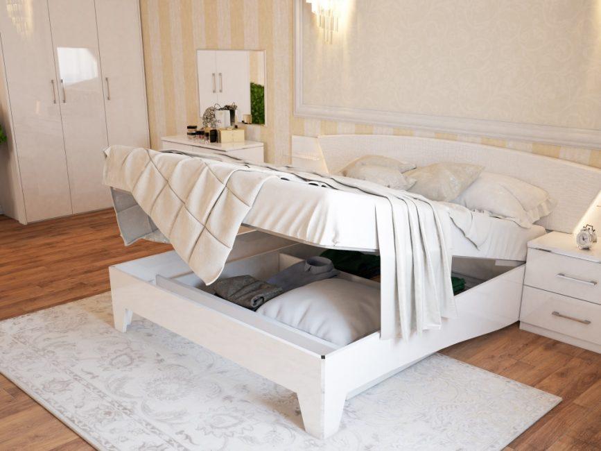 Avantajları nedeniyle, böyle bir mekanizmaya sahip yatakların kullanımı daha popüler hale gelir.