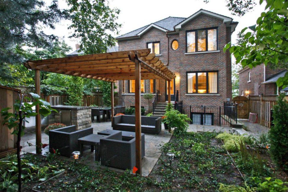 Rumah bata tahan terhadap semua keadaan cuaca