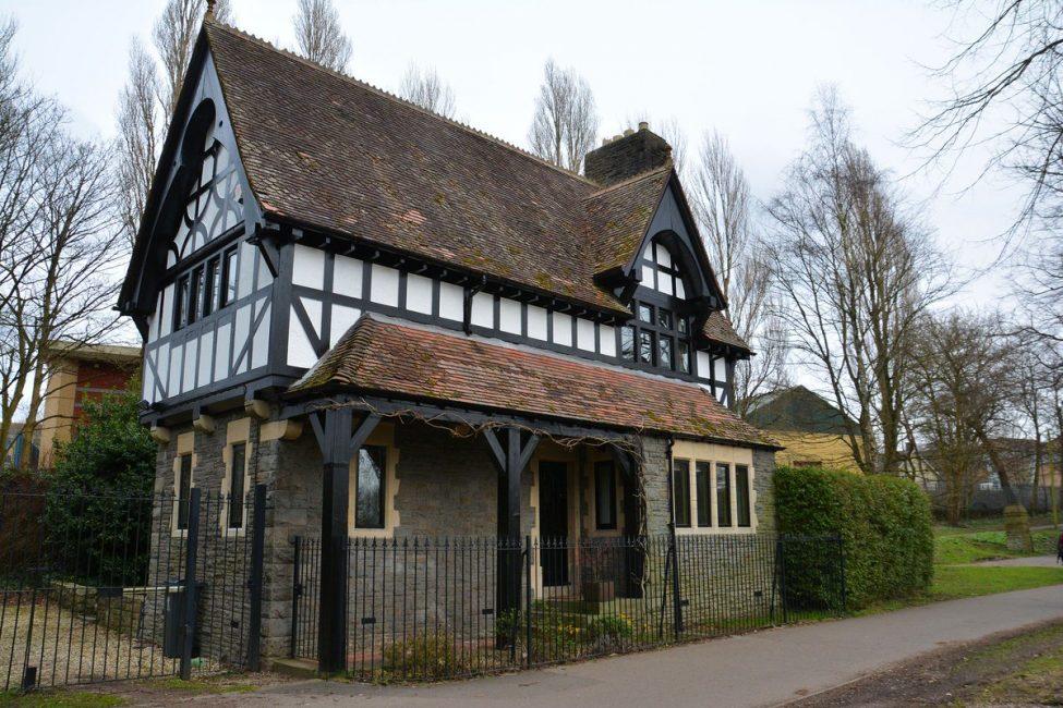 Ağartılmış ingilizce ev