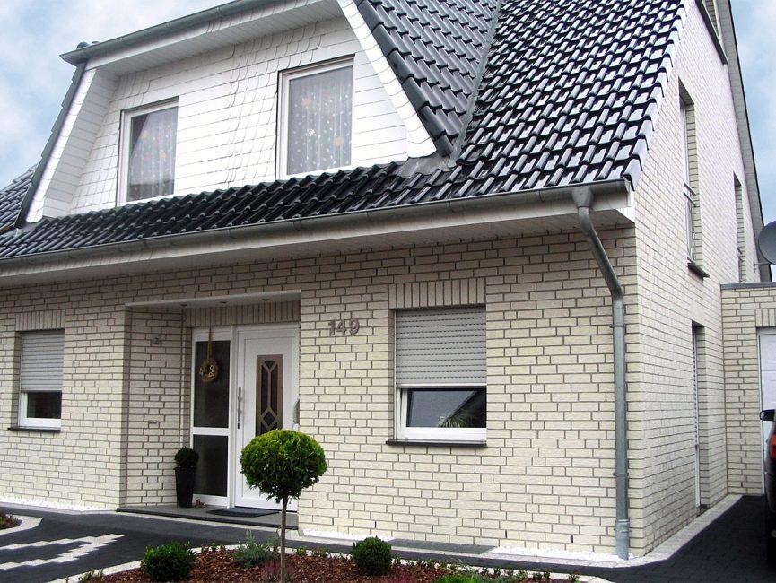 Warna putih secara visual meningkatkan saiz perumahan