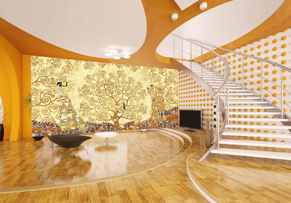 Reka bentuk dalaman moden