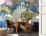 Apakah lukisan dinding seperti di lorong, ruang tamu, dapur dan bilik tidur? 150+ Photo Variasi idea asal
