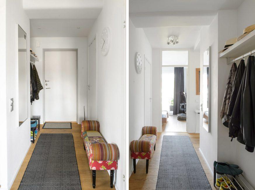 Jejaki secara visual memanjangkan koridor