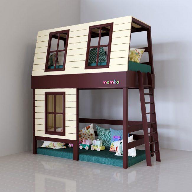 Bagi kanak-kanak, mencipta model yang berbeza dalam bentuk rumah