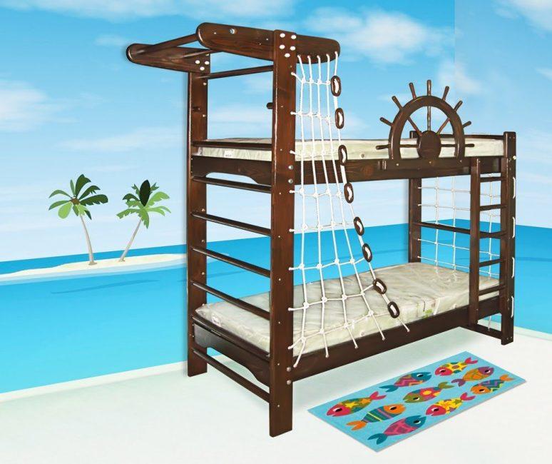 Kami menambah katil dengan kompleks sukan