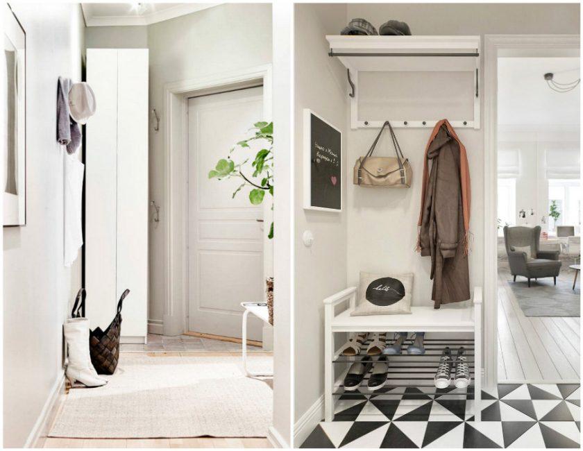 Idea yang baik untuk sebuah lorong kecil adalah menggunakan perabot sempit.