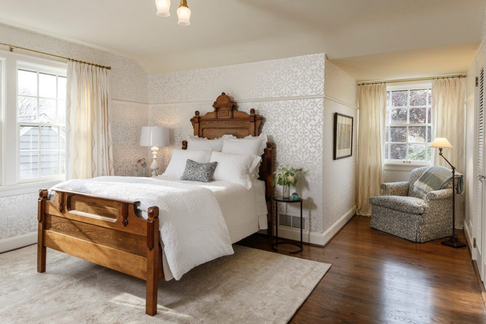 Duvar kağıdı ile uyumlu mobilyalar