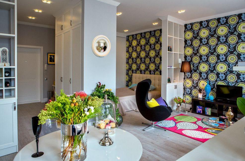 Sebuah apartmen kecil boleh menjadi selesa, luas, selesa dan berfungsi.