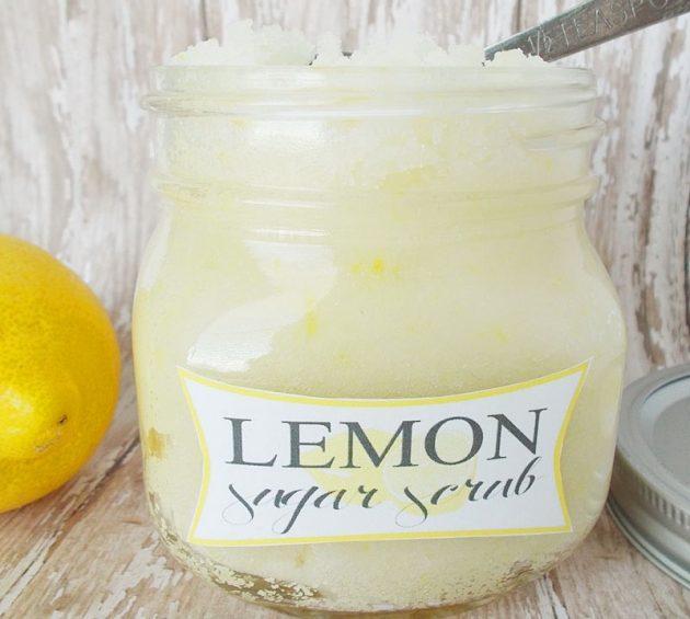 Gula Lemon Scrub DIY