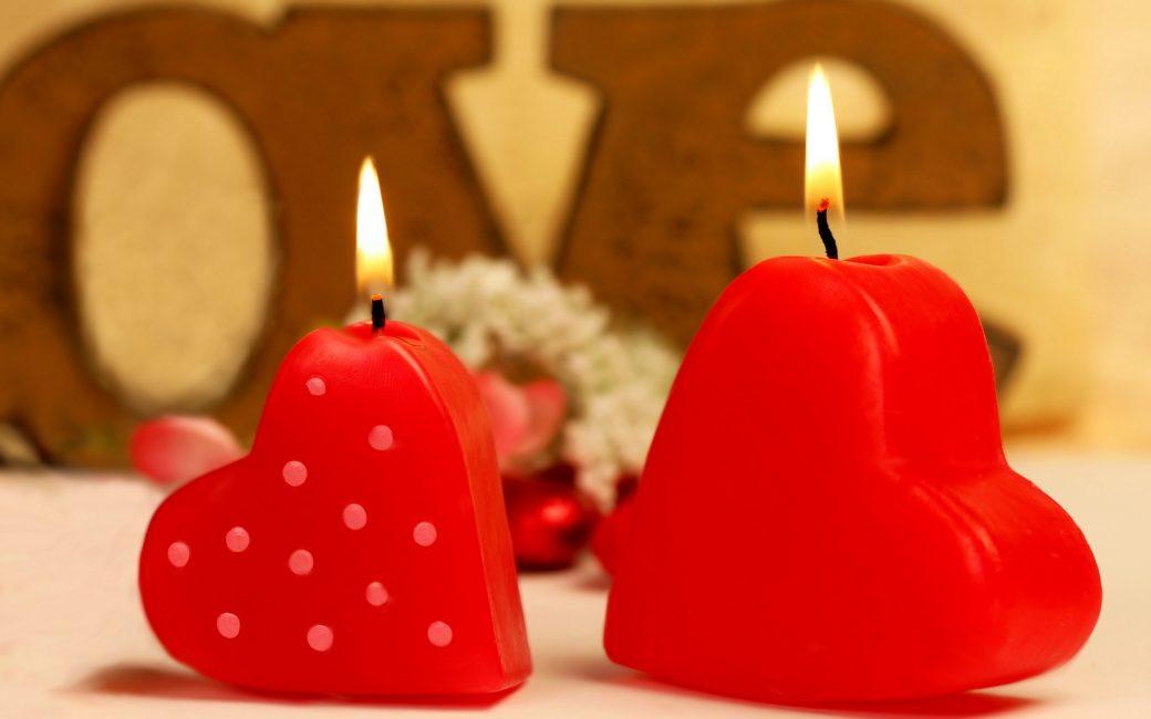 Lilin wangi untuk suasana yang romantis
