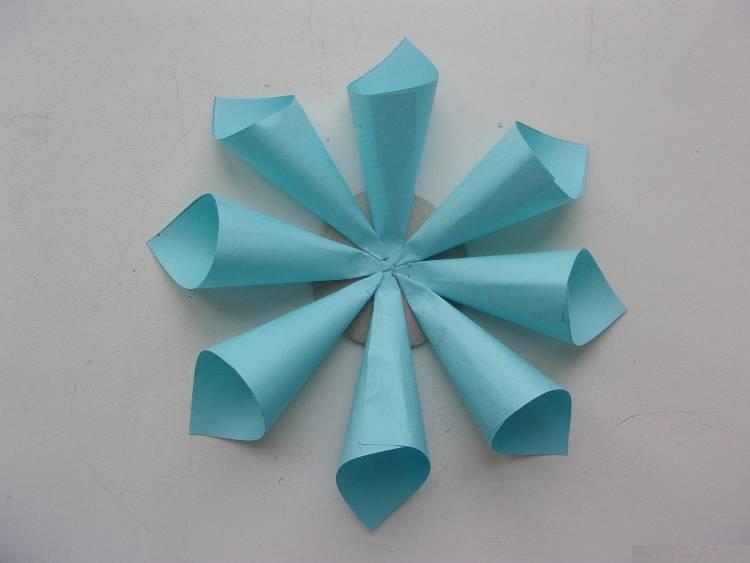 Coller des enveloppes au cercle
