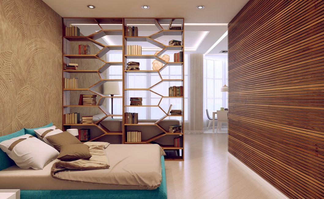 Oda bölgeleri için farklı aydınlatmalı tavan