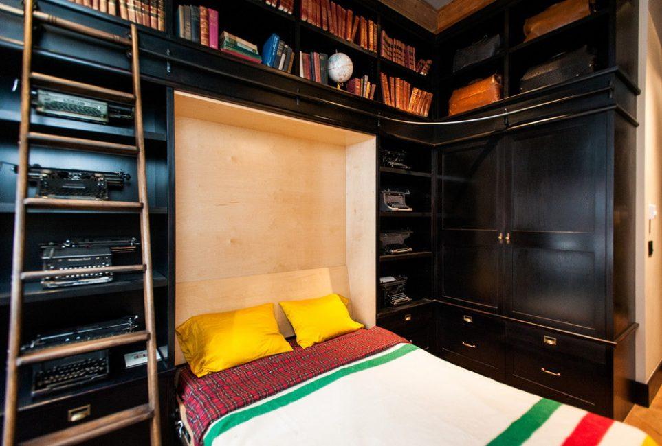 Küçük bir oda için mobilya transformatör