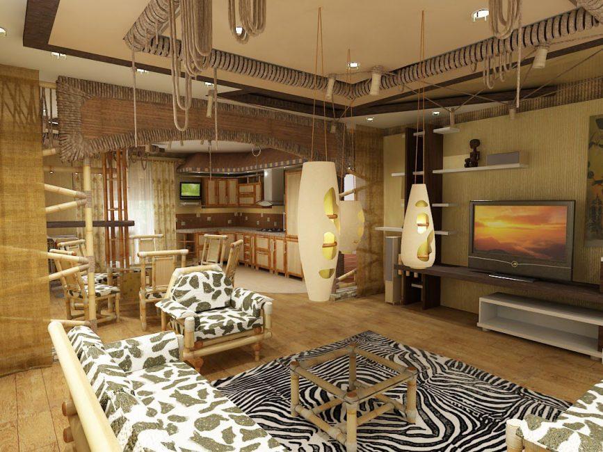 Perabot diperbuat daripada kayu padu
