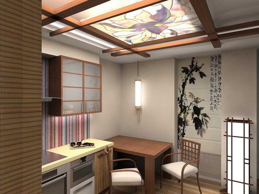 Perabot minimum dan lebih banyak ruang percuma