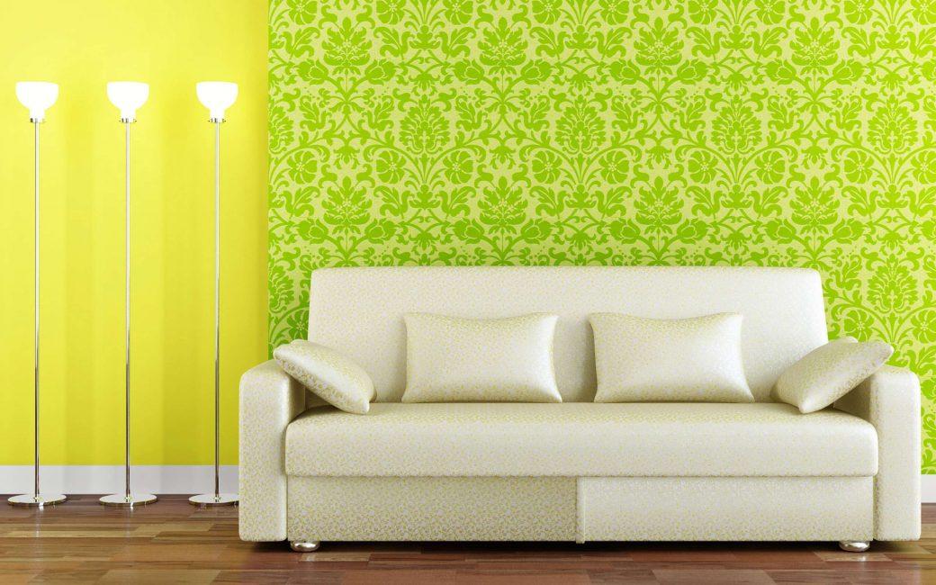 Birkaç yeşil doku kombinasyonu