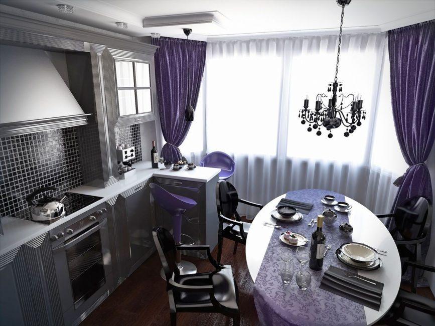 Gaya Art Deco dalam Interior Dapur