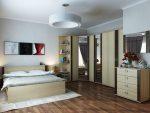 Buat bahagian dalaman anda sendiri: 110+ Foto reka bentuk Bilik tidur Corner dengan napolem. Anda tidak boleh meneka idea-idea ini!