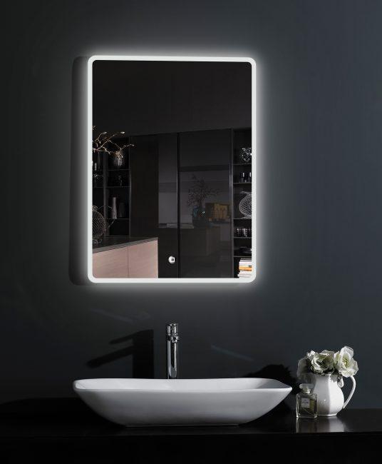 Cermin tahan kelembapan moden