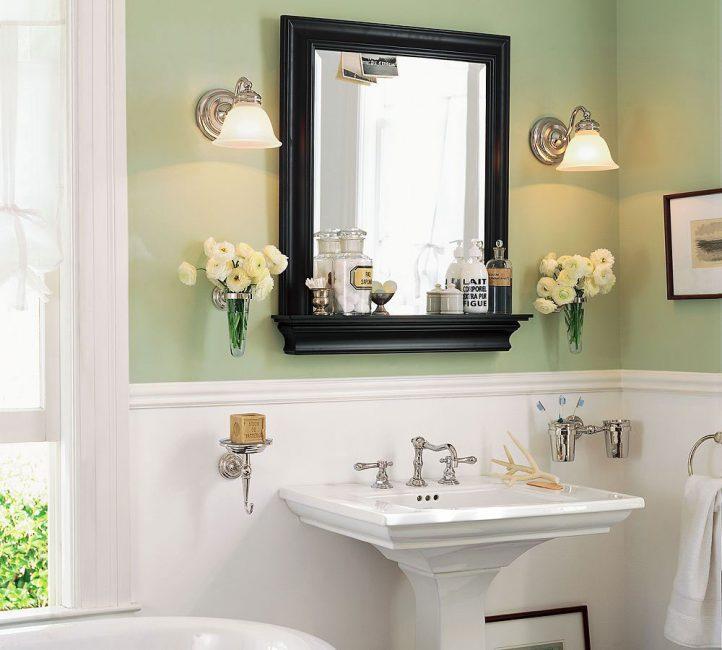 목욕탕에있는 꽃다발은 점점 인기를 얻고 있습니다.