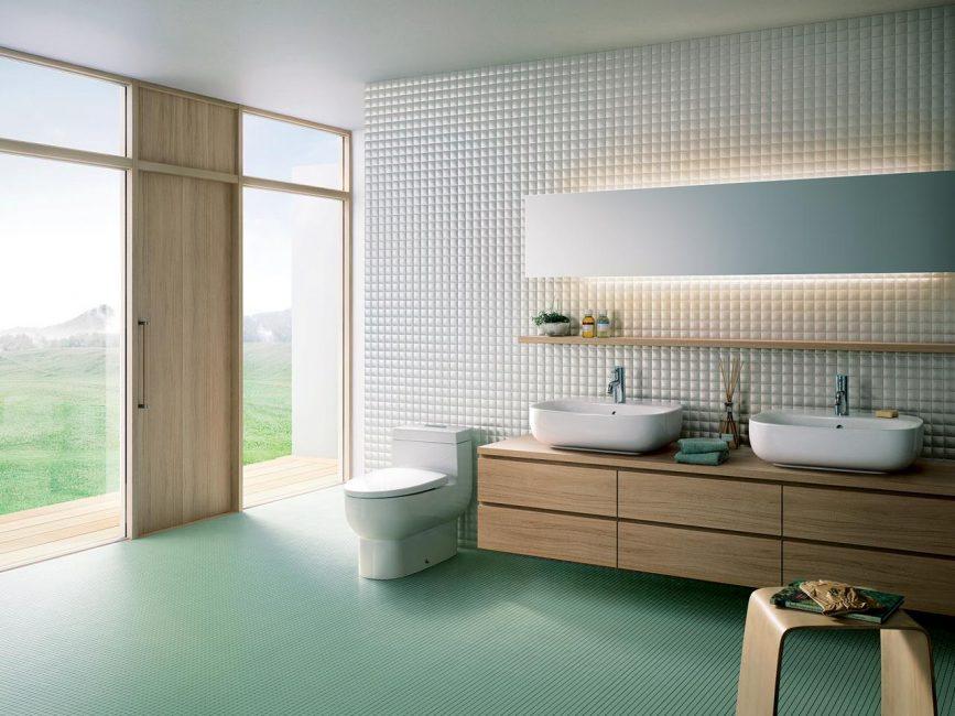 Bilik mandi berteknologi tinggi