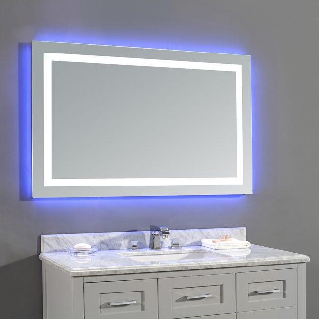 Pencahayaan putih dan neon