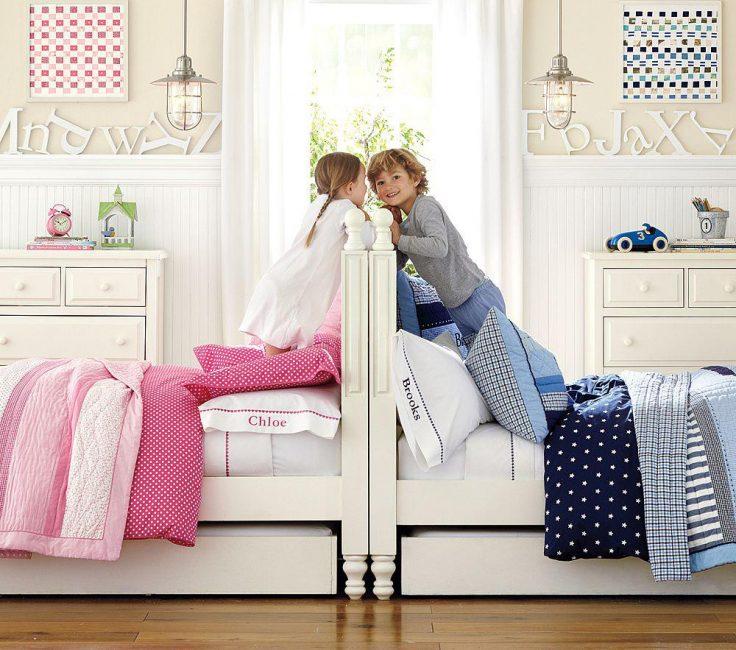 Katil-katil selesa yang besar yang pasti akan disukai oleh anak-anak.